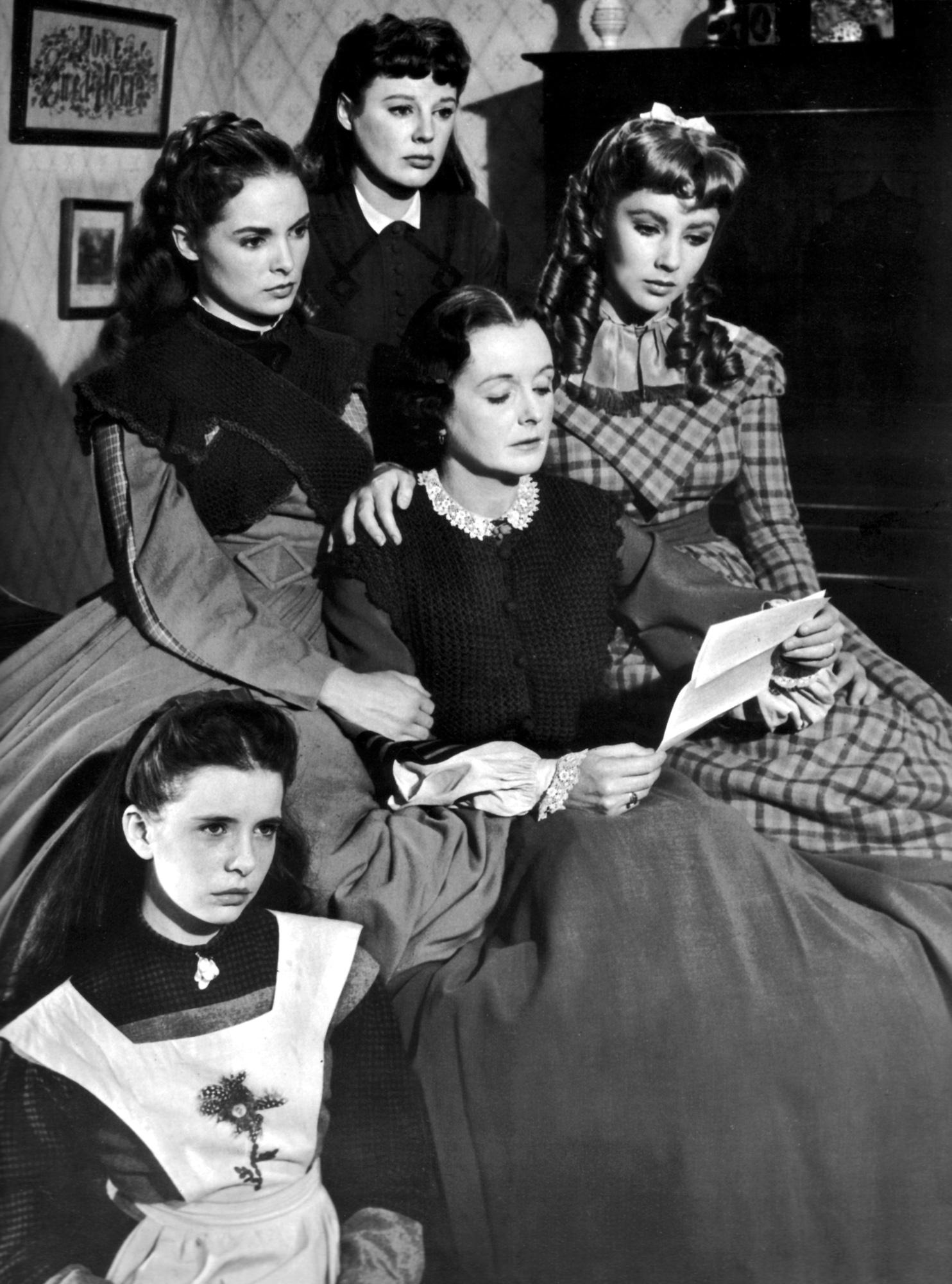 Resultat d'imatges de mujercitas cine 1948